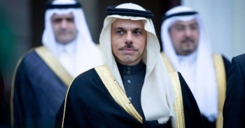 The Minister of Foreign Affairs Prince Faisal Bin Farhan.