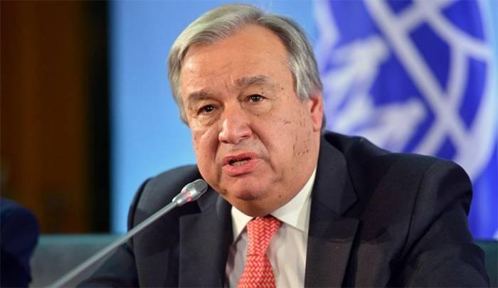 UN Secretray General António Guterres