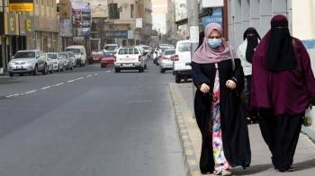 People wearing masks seen in the heart of the Bahraini capital Manama. — Courtesy photo