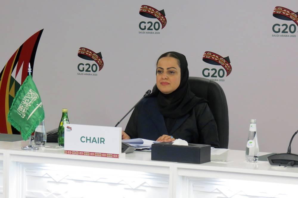 Saudi Arabia's G20 Sherpa gave the opening remarks.