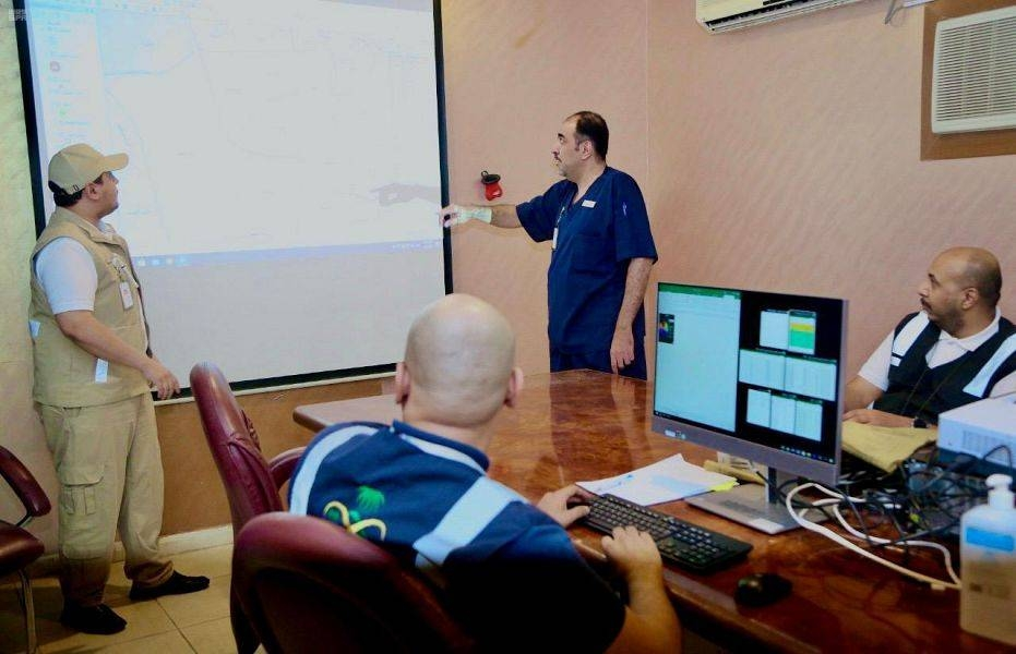 Operations room set up to monitor coronavirus cases 24/7 in Makkah