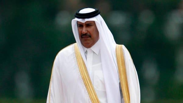 Former Qatar's Prime Minister Sheikh Hamad Bin Jassim Al-Thani
