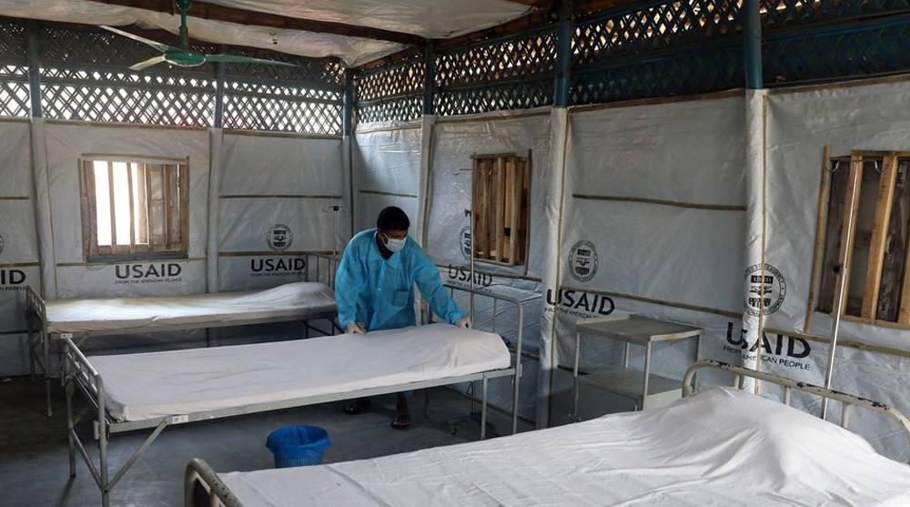 In Cox's Bazar, Bangladesh, an isolation center has been built to provide health care to Rohingya refugees, in the event of a major outbreak of COVID-19. — Courtesy IOM