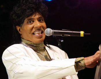 2007 file photo shows Little Richard, one of the founding fathers of rock 'n' roll. Richard has died aged 87.