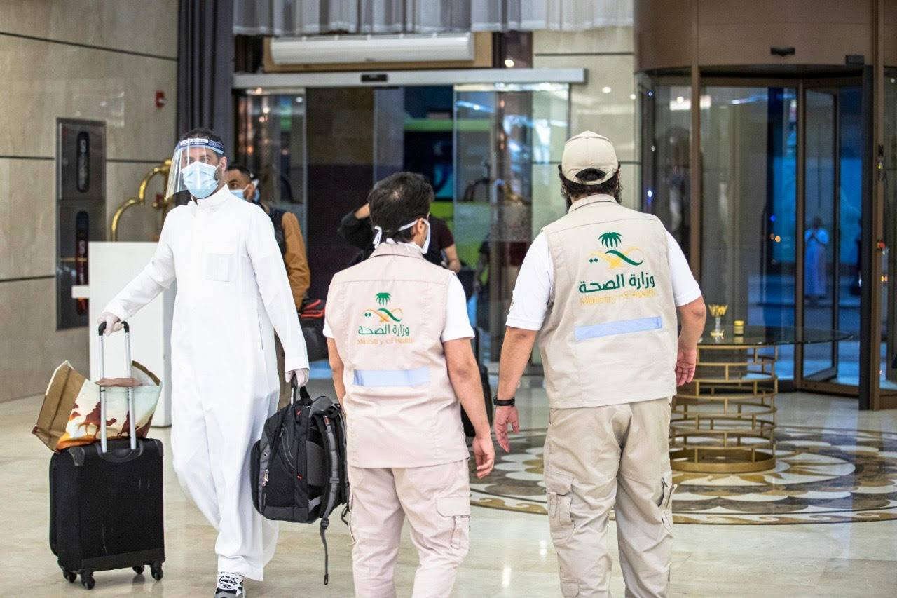 Daily cases of Saudi infections show declining trend