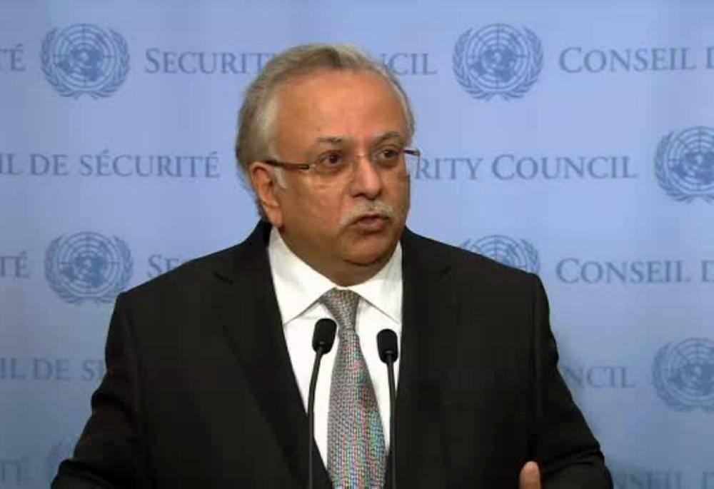 File photo of the Permanent Representative of Saudi Arabia to the United Nations Ambassador Abdullah Bin Yahya Al-Muallimi.