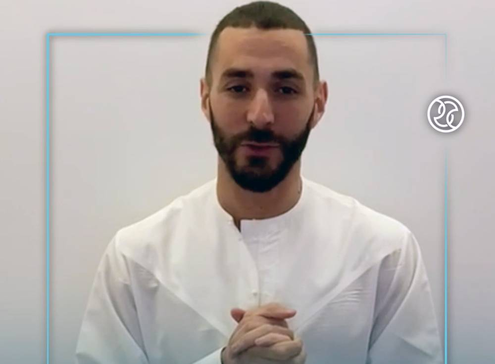 Karim Benzema  has backed Dubai Sports Council's 'Be Fit, Be Safe' campaign.