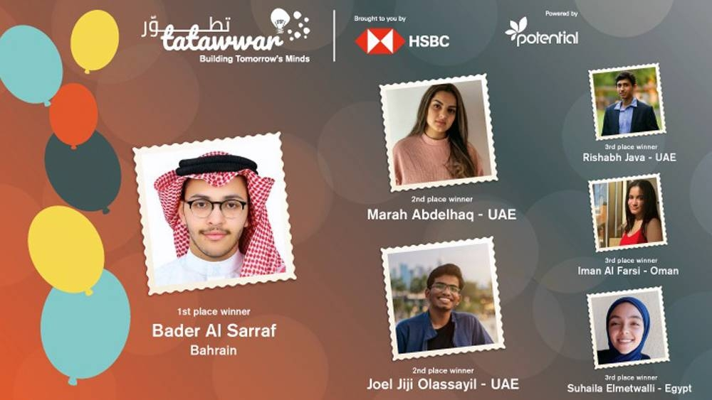 6 Tatawwar winners announced during online awards ceremony