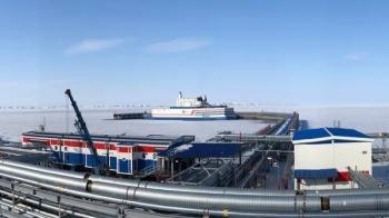 A photo of the Akademic Lomonosov reactor in the distance. — Courtesy photo