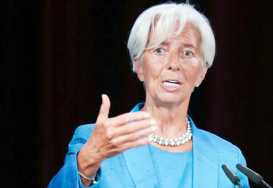 European Central Bank (ECB) President Christine Lagarde.