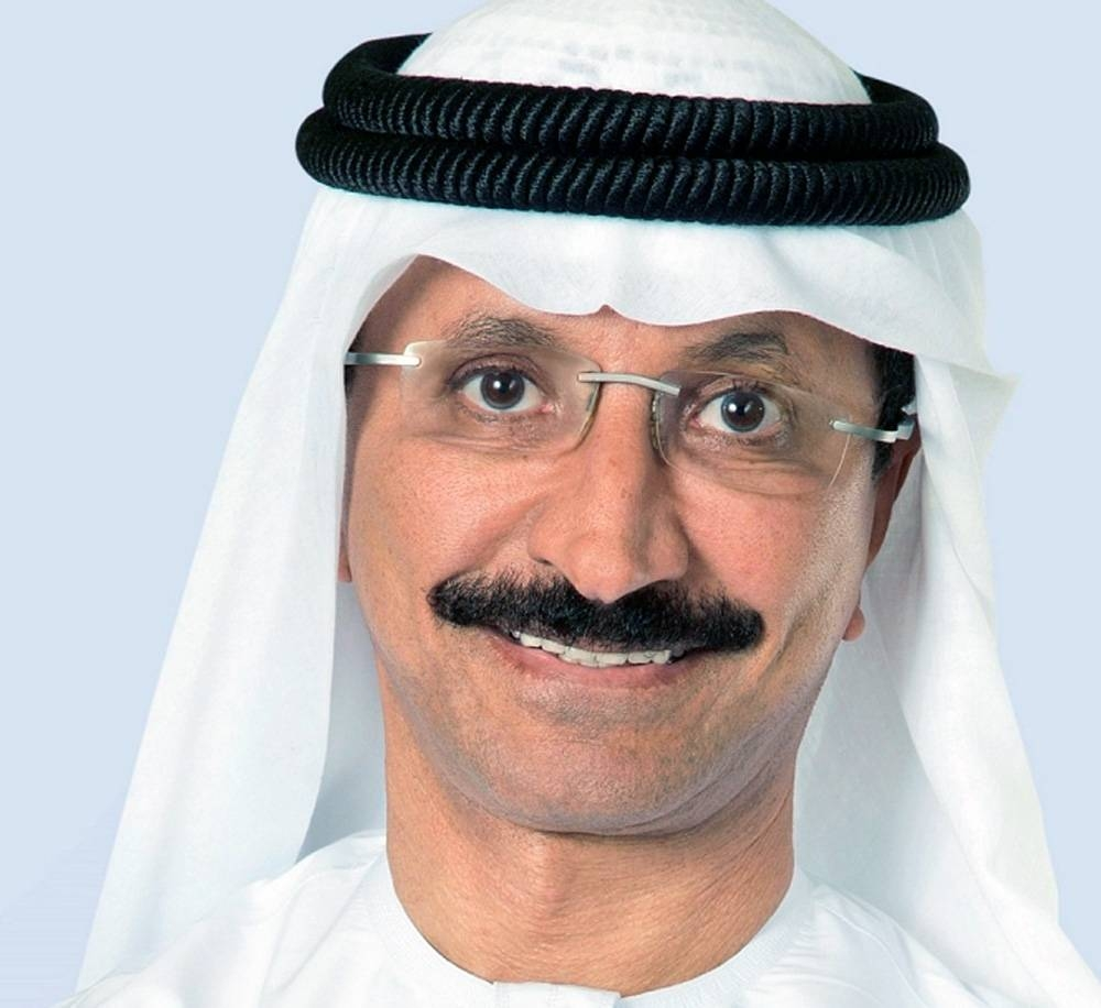 Sultan Ahmed Bin Sulayem, group chairman and chief executive office of DP World.
