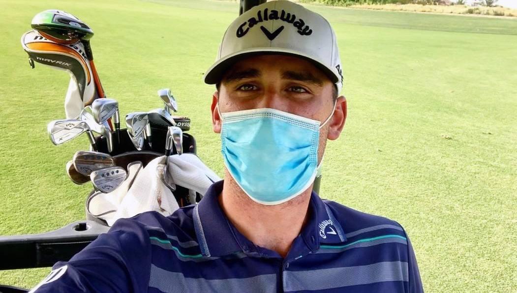 Italian golfer Renato Paratore.