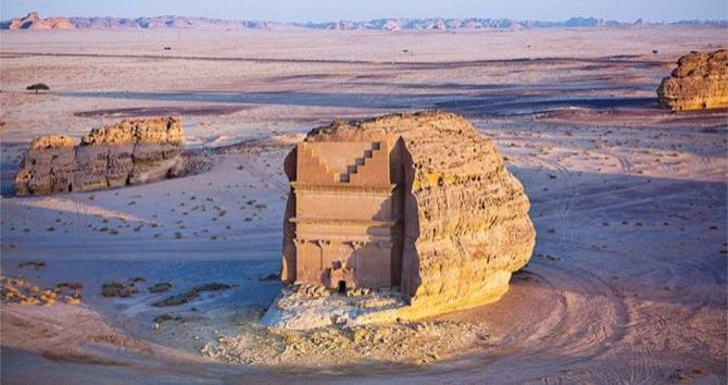 Rich with historic culture, mystery and romantic landscapes, AlUla is the perfect getaway for a quick and once-in-a-lifetime experience. -- Courtesy photo