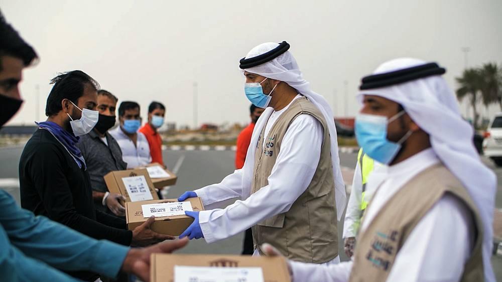FedEx Cares in Saudi Arabia