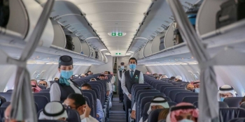Fourtyflights arrived and departed from the airport's Terminal 1 on Sunday. — King Abdulaziz International Airport Twitter account