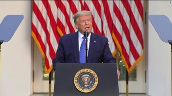 US President Donald Trump threatened the nation's governors on Monday that he would deploy the military to states if they did not stamp out violent protests over police brutality that have roiled the nation over the past week. — Courtesy photo