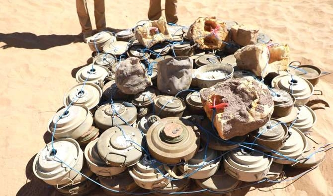 The vast number of mines continues to pose a threat to Yemeni civilians. -- SPA