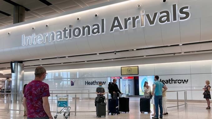 The new measures will come into force from June 8 and require arrivals to self-isolate for 14 days, the home secretary confirmed. — Courtesy photo