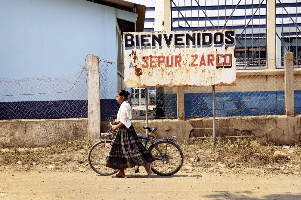 A woman in Guatemala uses a bicycle as her main means of transportation. — Courtesy UN Women/Ryan Brown