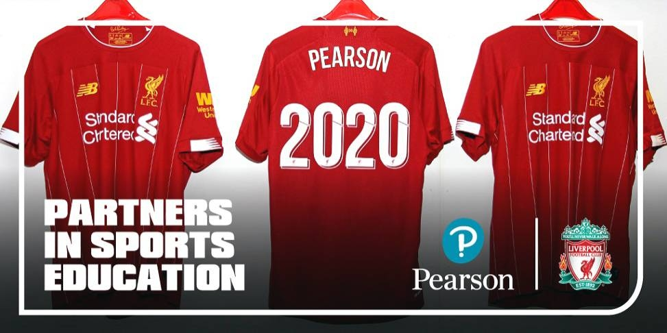 Liverpool Football Club and Pearson announce global partnership in sports education.