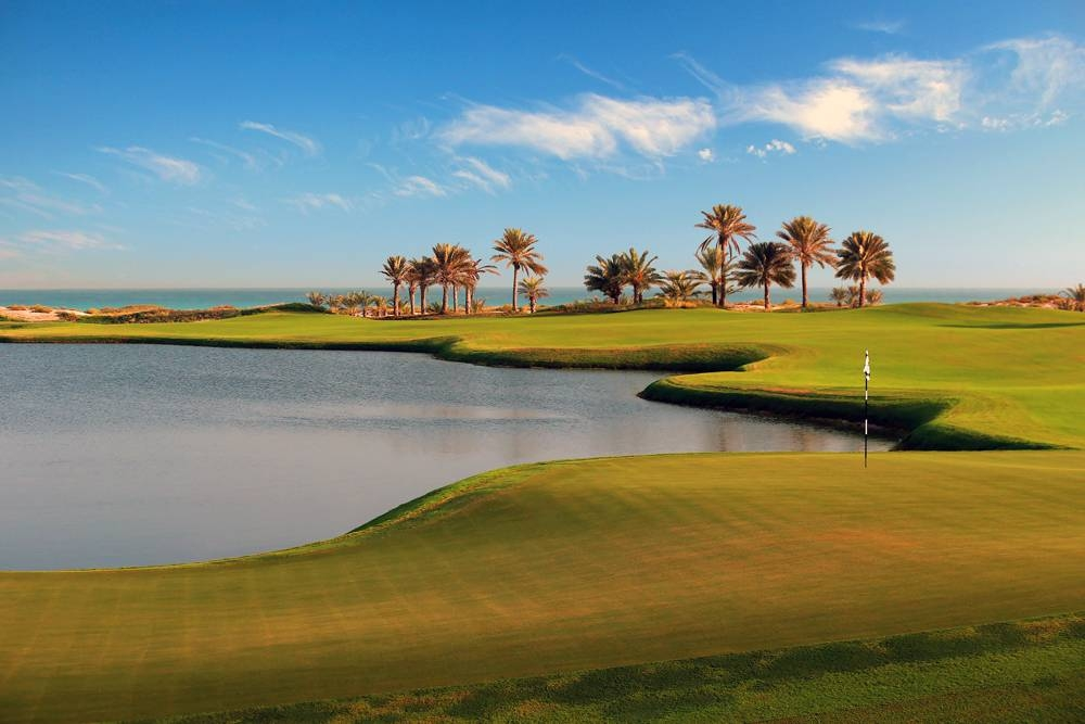 Saadiyat Beach Golf Club -18th Hole