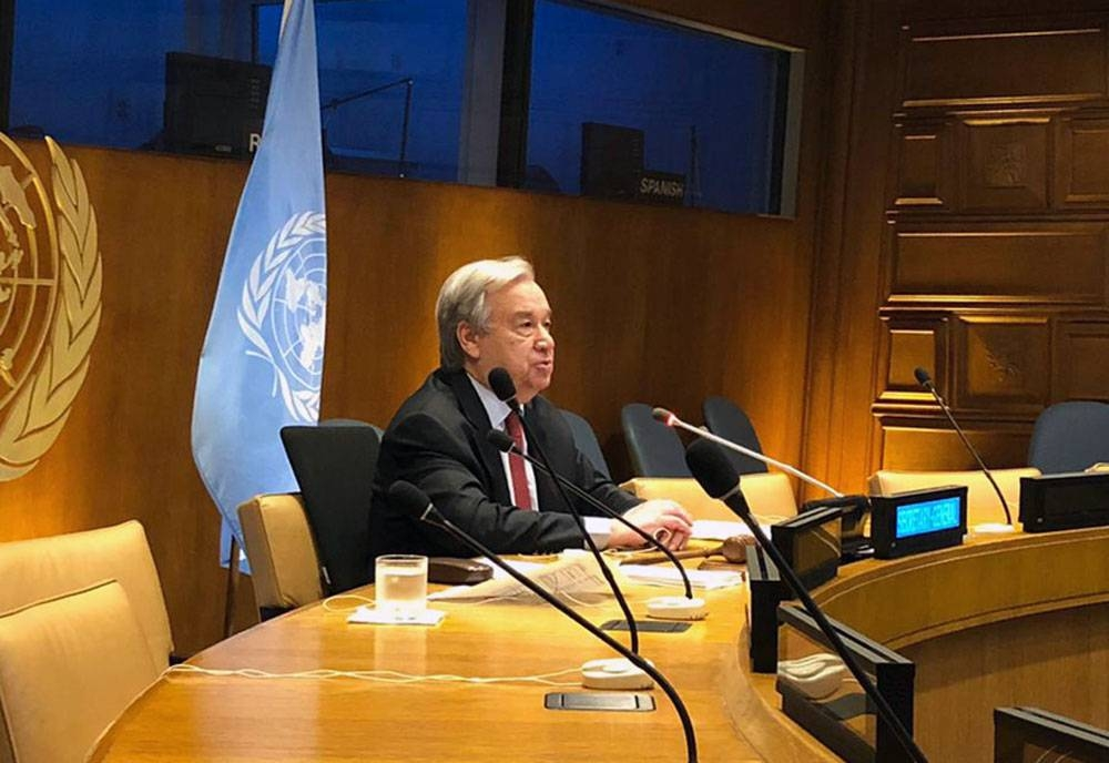 "UN Secretary General António Guterres said, ""nature is sending us a clear message. We are harming the natural world, to our own detriment."""