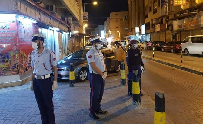 Police step up patrols on Bahrain's streets. -- Courtesy photo