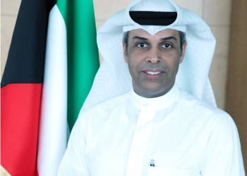 Kuwait's Oil Minister and Acting Minister of Electricity and Water Dr. Khalid Al-Fadhil.