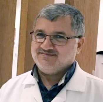 Syrian Dr. Muhammad Muslih Qatranji, 57, who succumbed to corona in EP.