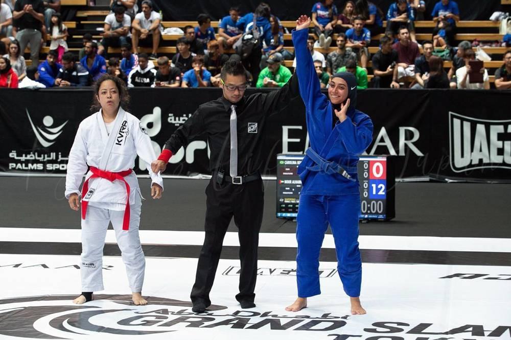 Faisal Al Ketbi believes mental conditioning is a key asset in a jiu-jitsu fighters' armory.