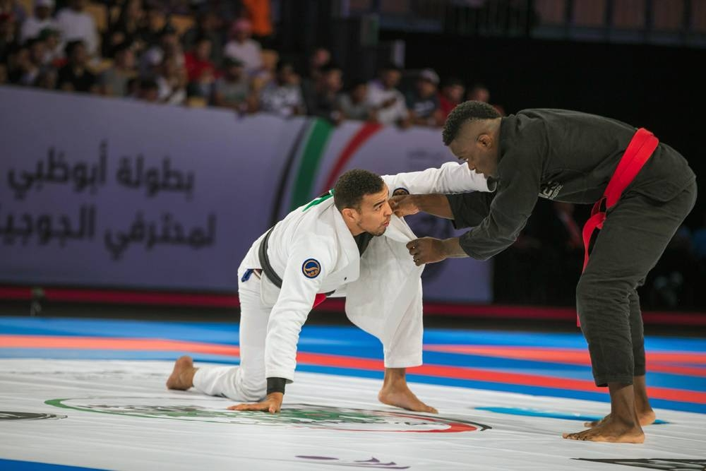 Faisal Al Ketbi, the first Emirati black belt and the country's longest serving member.