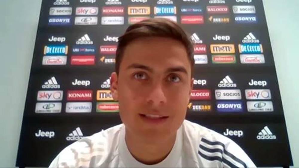 Juventus' Paulo Dybala.