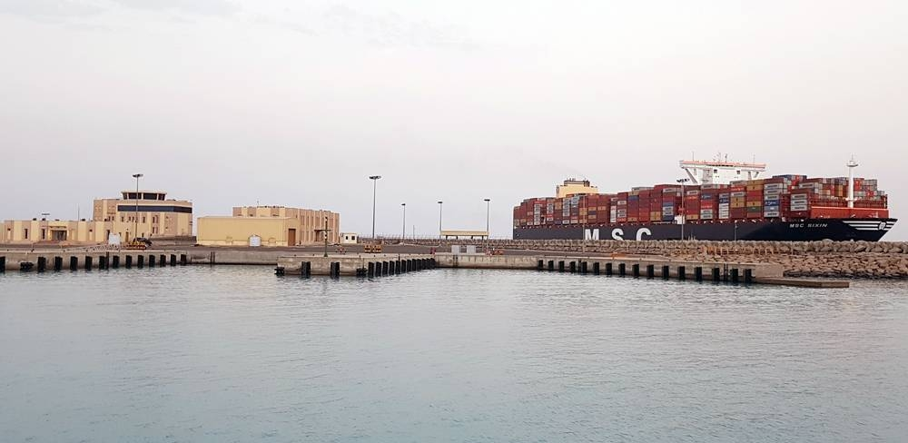 King Abdullah Port welcomes world's largest container ships