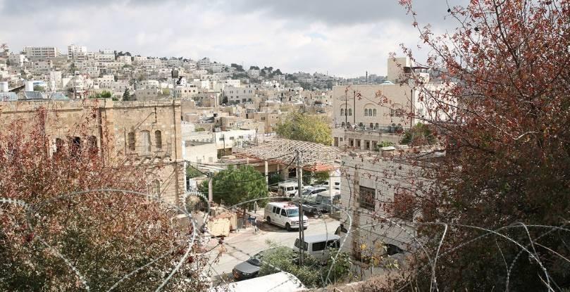 Beit Hadassah Settlement in H2 area in Hebron, West Bank. — courtesy UNRWA/ Marwan Baghdadi