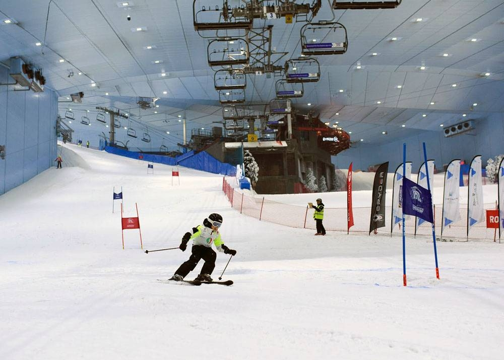 Sports event resumes in Dubai.