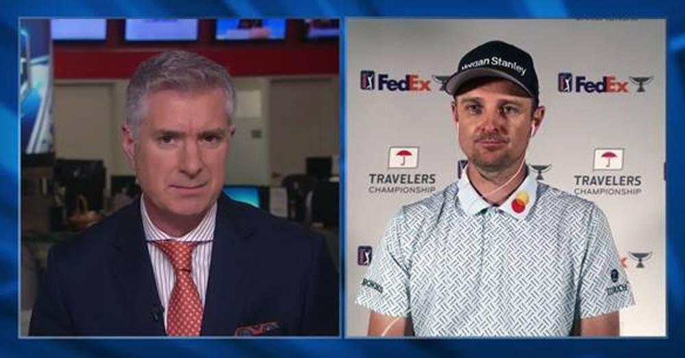 English golfer Justin Rose talks to CNN's John Riddell.