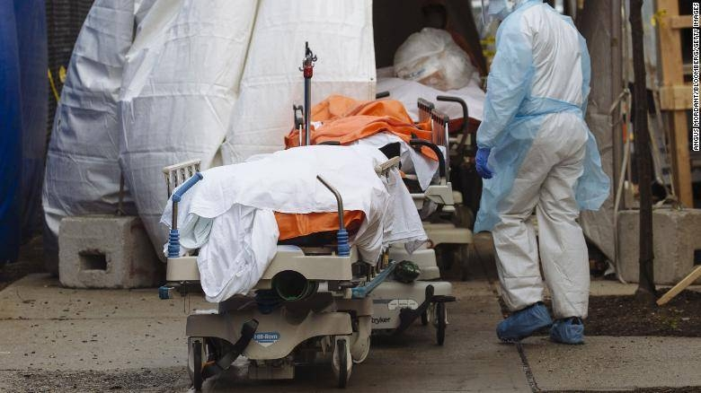 The US now has 2.42 million confirmed cases of the deadly illness and 124,415 people have died.  — Courtesy photo