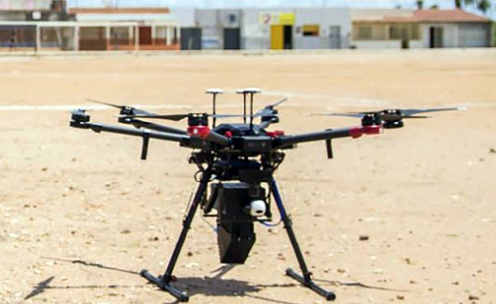 Drones can reduce costs in using a nuclear technique to supress the mosquito vectors of Zika and other diseases. — courtesy photo: WeRobotics