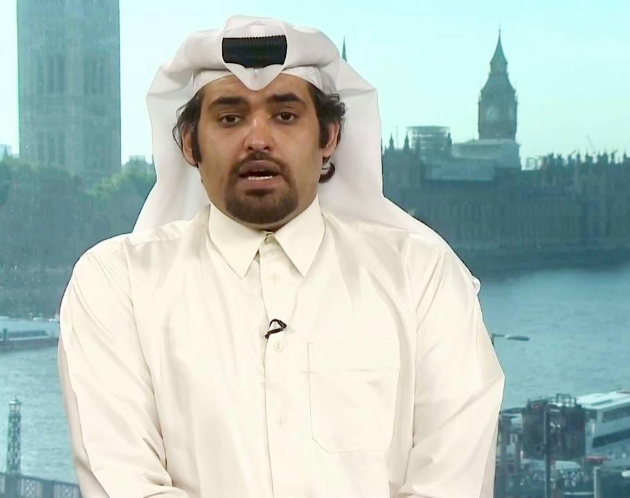 Prominent Qatari dissident Khaled Al-Hail .
