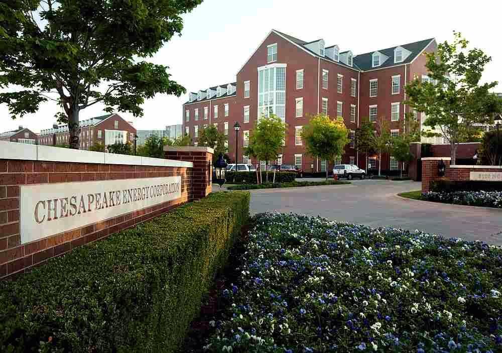 File photo of Chesapeake Energy Corporation's campus in Oklahoma City, Oklahoma.