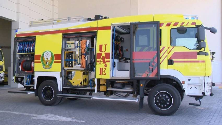 The truck has five control ports, one for each firefighter, and contains oxygen that firefighters can easily use if they experience breathing difficulties during an operation. It will also improve their productivity and performance. — Courtesy photos