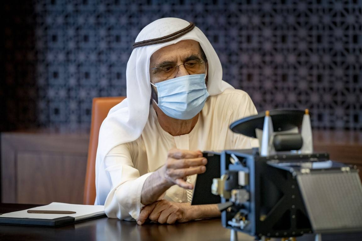 Sheikh Mohammed bin Rashid Al Maktoum, Vice President and Prime Minister of UAE and Ruler of Dubai has reviewed the final preparations of the Hope Probe, scheduled to launch to Mars on July 15. — WAM photos