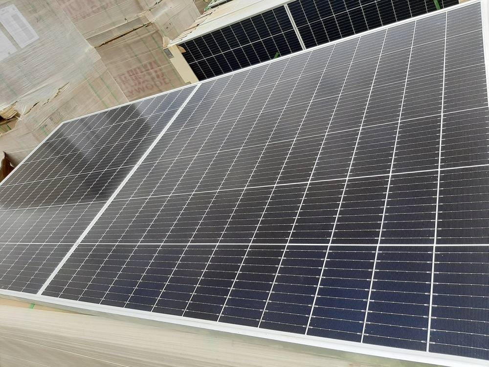 A new milestone for the 500MW Ibri 2 solar PV project in Muscat.