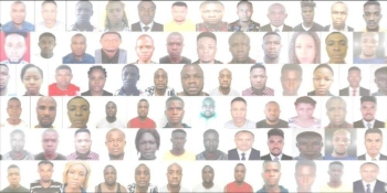 Lt. Col. Abdullah Mohammed, head of Criminal Investigation Department at Dubai Police, said a team was formed immediately upon receiving the tip-off, and a thorough plan was set up to apprehend the 47 African suspects — 10 women and 37 men.