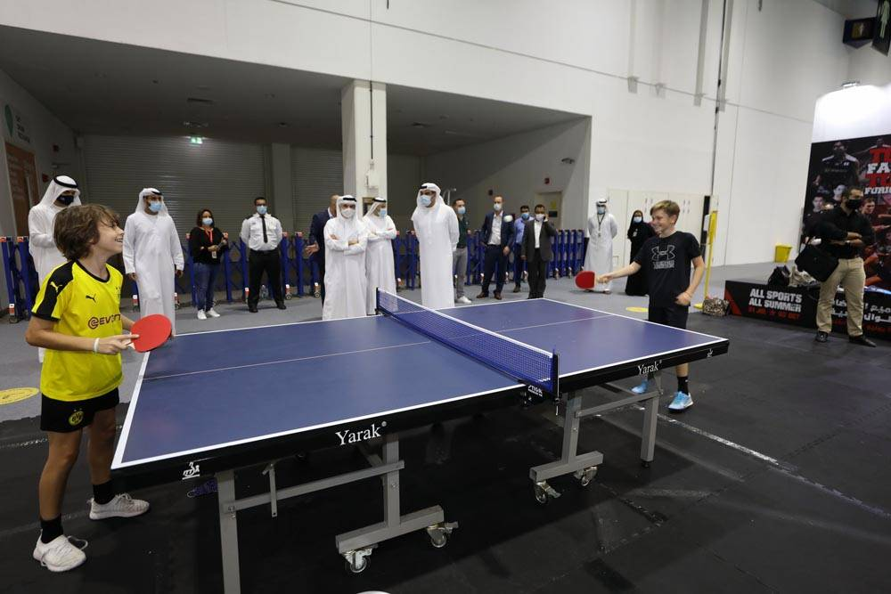 Dubai World Trade Centre (DWTC) in association with the Dubai Sports Council (DSC), marked the official opening of the 10th edition of Dubai Sports World (DSW).