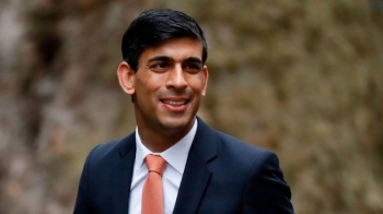 UK Chancellor of the Exchequer Rishi Sunak