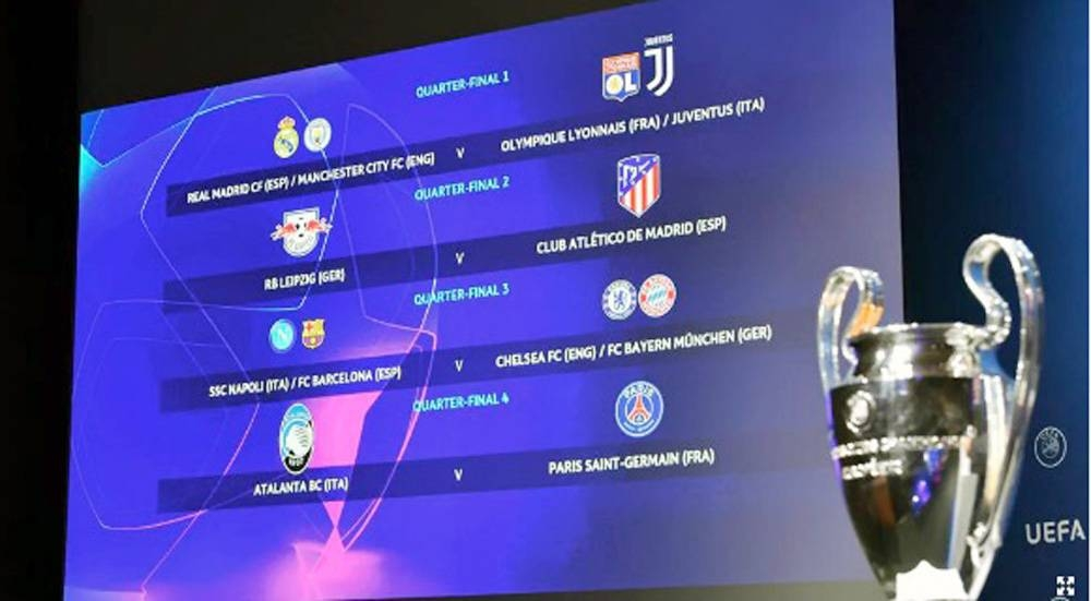 Real Madrid could meet Juve, potential Barca test for Bayern in Champions League