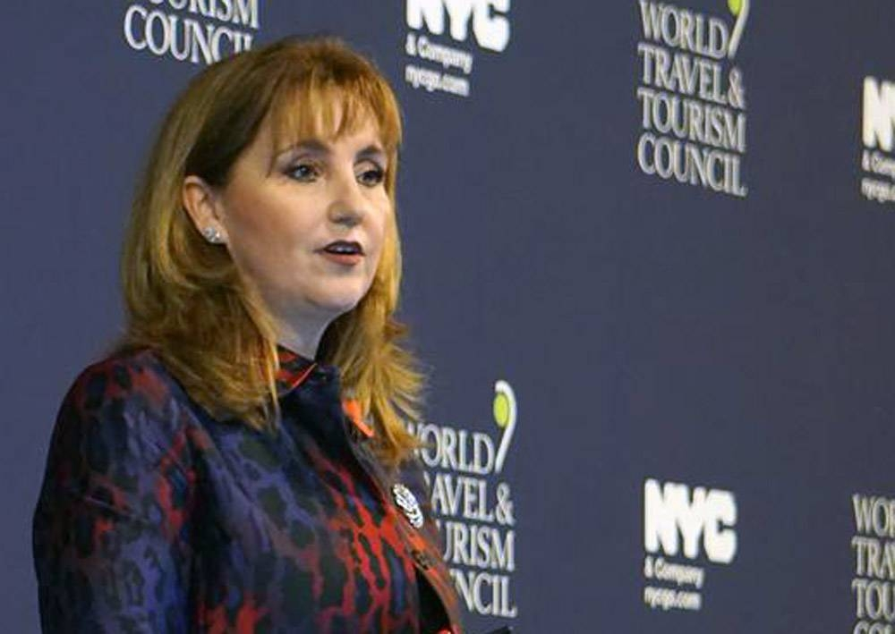 Gloria Guevara, WTTC President & CEO, seen in this file photo.