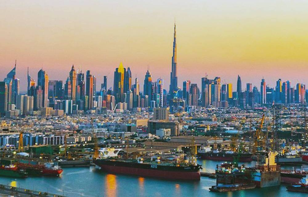 File photo of Dubai. The UAE, as part of a 15-day agreement between UAE and India, has allowed UAE-based carriers to carry Indian citizens from the UAE to India.