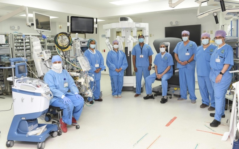 KFSHRC robotic cardiac surgery rated among five largest centers in world